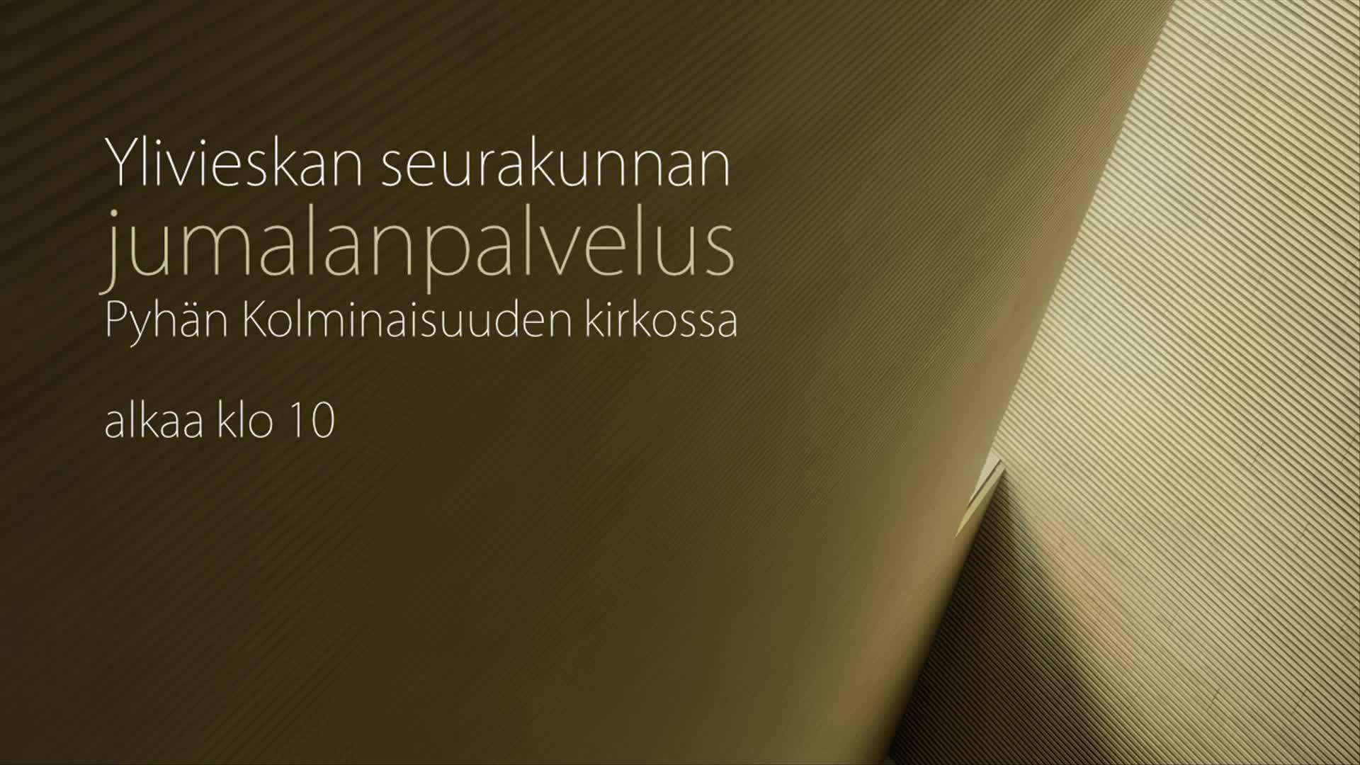Kellotapulin siunaamisen jälkeinen piispanmessu 5.10.2021 Pyhän Kolminaisuuden kirkossa